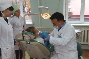 Give a smile dental care program